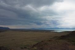 La pampa et el lago Viegma. Plein vent!