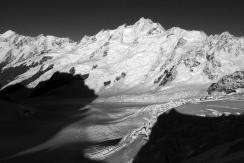 Minarets, 3040m et Tasman Glacier
